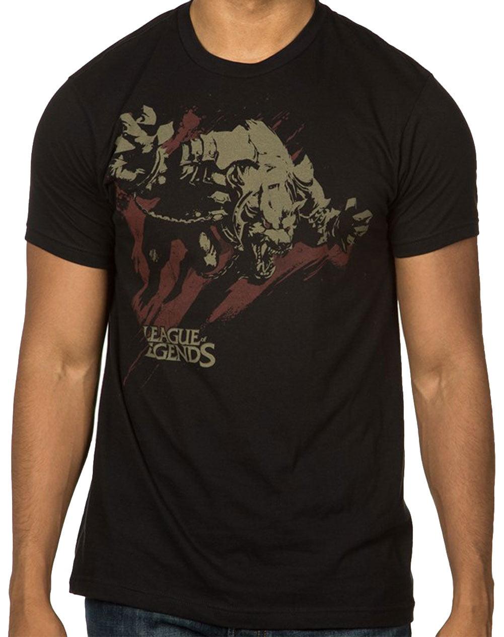 League Of Legends T-Shirt  multiplayer online battle kids Mens women tee top