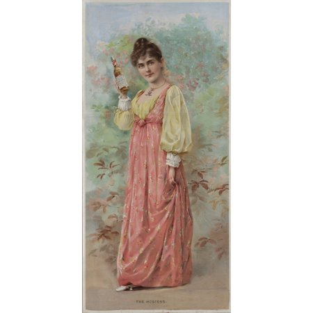 The Hostess C1892 Poster Print By Unknown