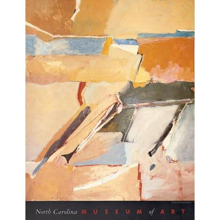 Berkeley No. 8 Art Print By Richard Diebenkorn - (Berkeley Column Mount Cream)