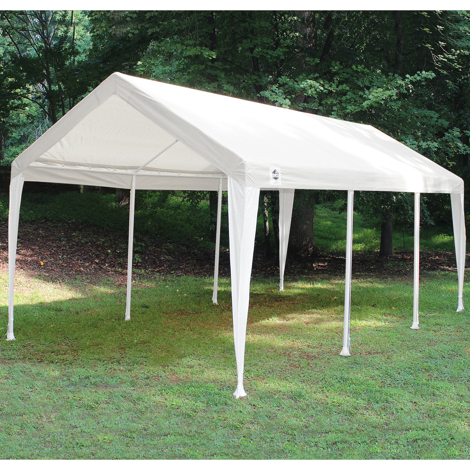 King Canopy Titan 10 x 20 ft. Canopy Replacement Cover - White - Walmart.com & King Canopy Titan 10 x 20 ft. Canopy Replacement Cover - White ...