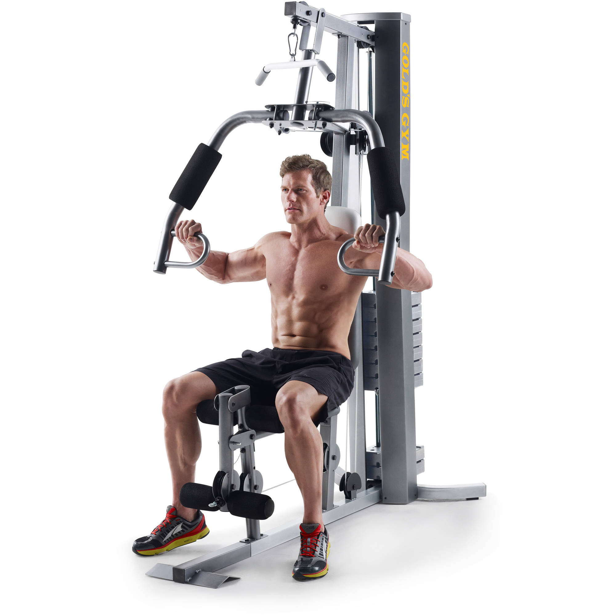 Golds Gym XRS 50 Home With High And Low Pulley System