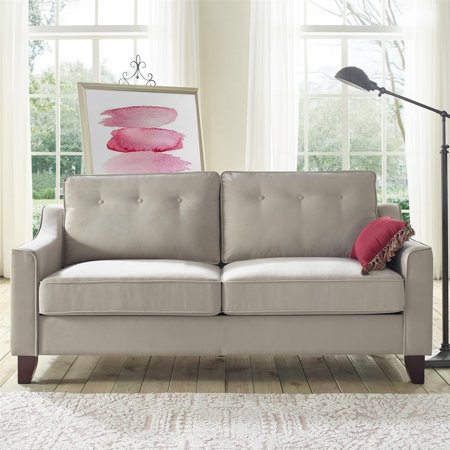 Dorel Living Lazlo Sofa Beige