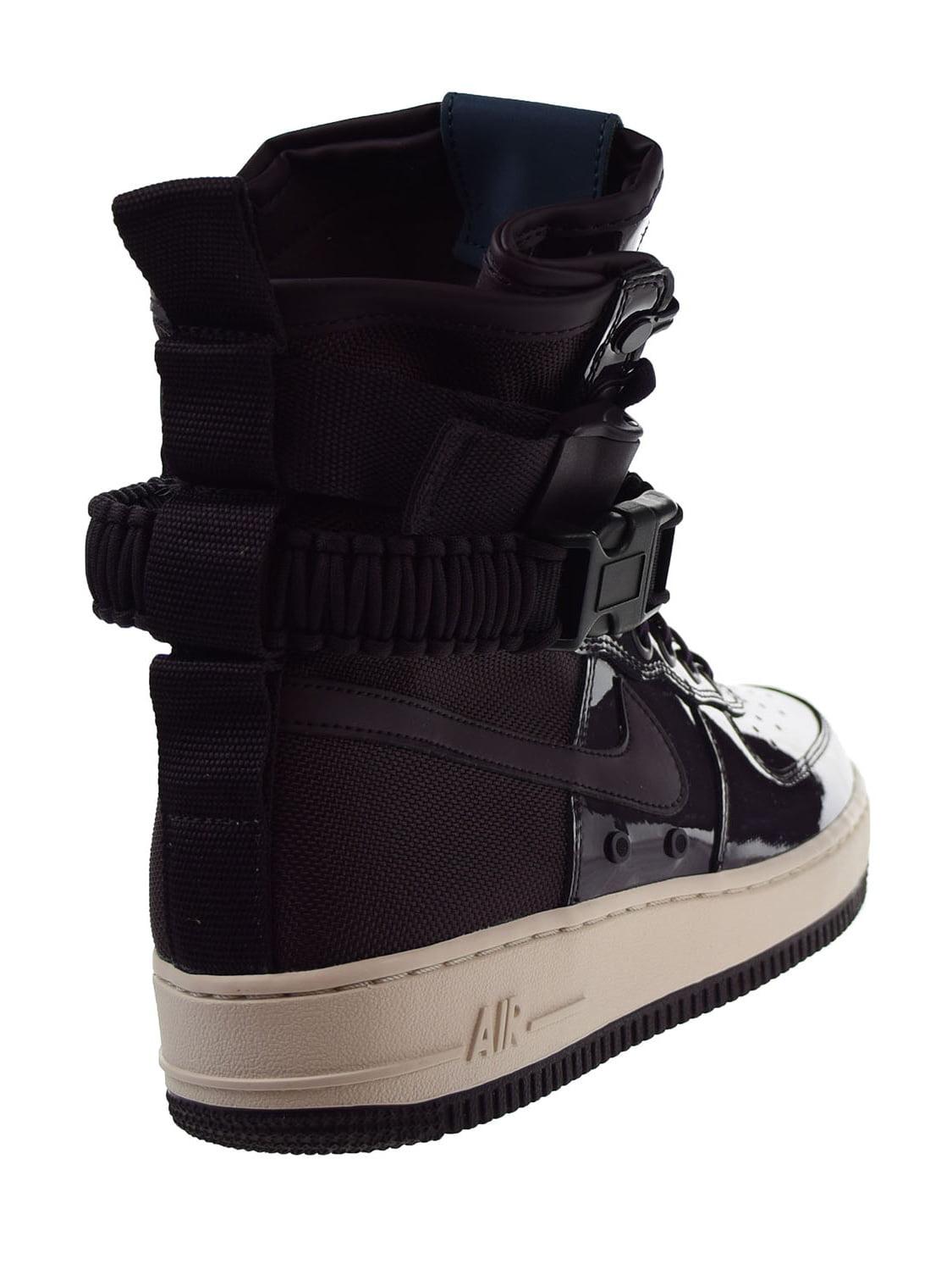 Nike SF Air Force 1 SE Premium Womens Shoes Port Wine/Space Blue aj0963-600