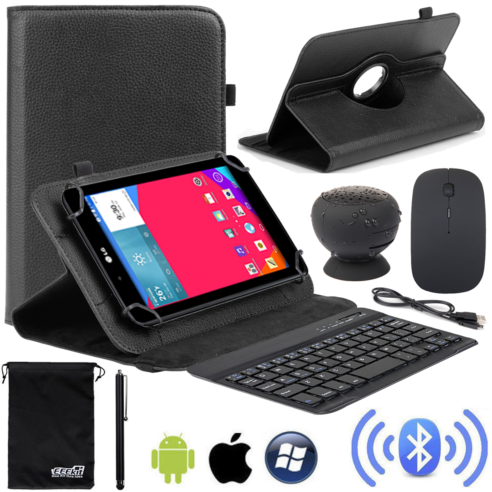 EEEKit Universal 4in1 Kit for 7 inch Tablet NOOK Tablet 7...