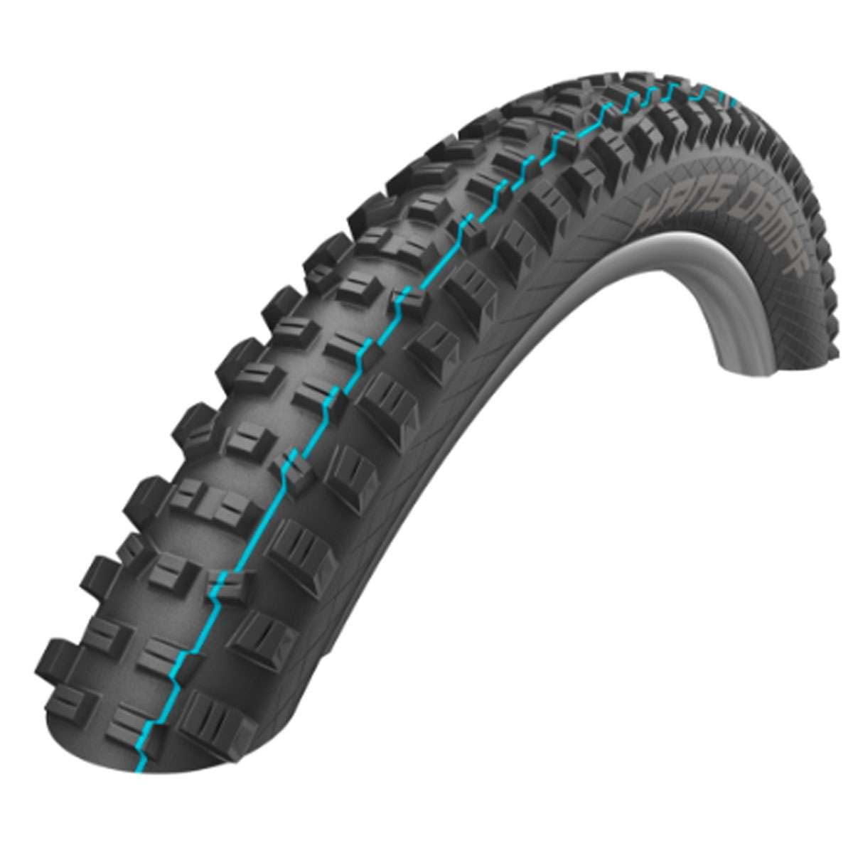 Schwalbe Hans Dampf HS 491 Performance TL Ready Addix Folding Mountain Bicycle Tire - 24 x 2.35 - 11601118