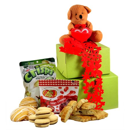 Gluten Free Palace Beary Sweet Valentine's Day Gluten Free Gift Tower, - Beary Sweet Gift