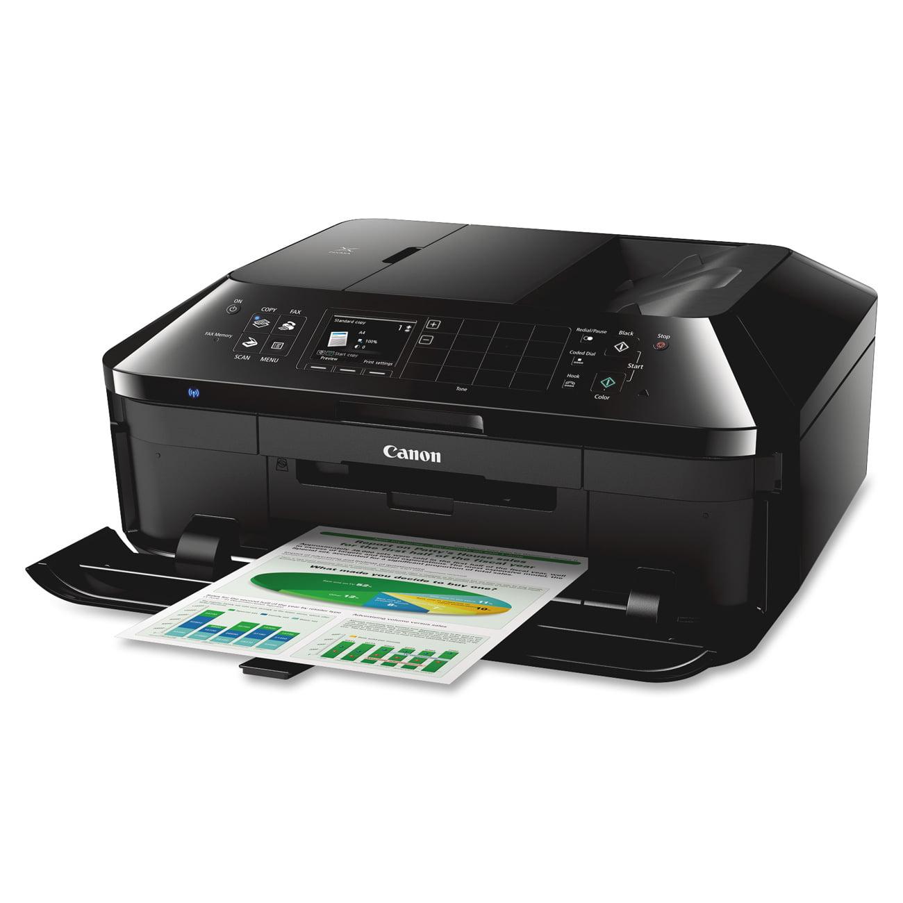 Canon PIXMA MX922 Wireless All-In-One Office Inkjet Printer,  Copy/Fax/Print/Scan - Walmart.com