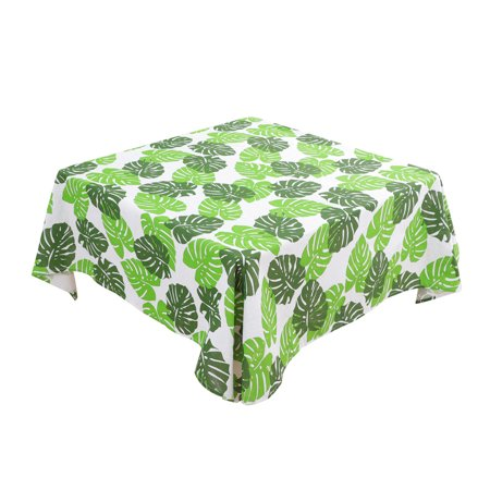 """Tablecloth Cotton Oil Stain Resistant Wedding Camping Table Cloths 55"""" x 55"""", #5 - image 2 de 7"""