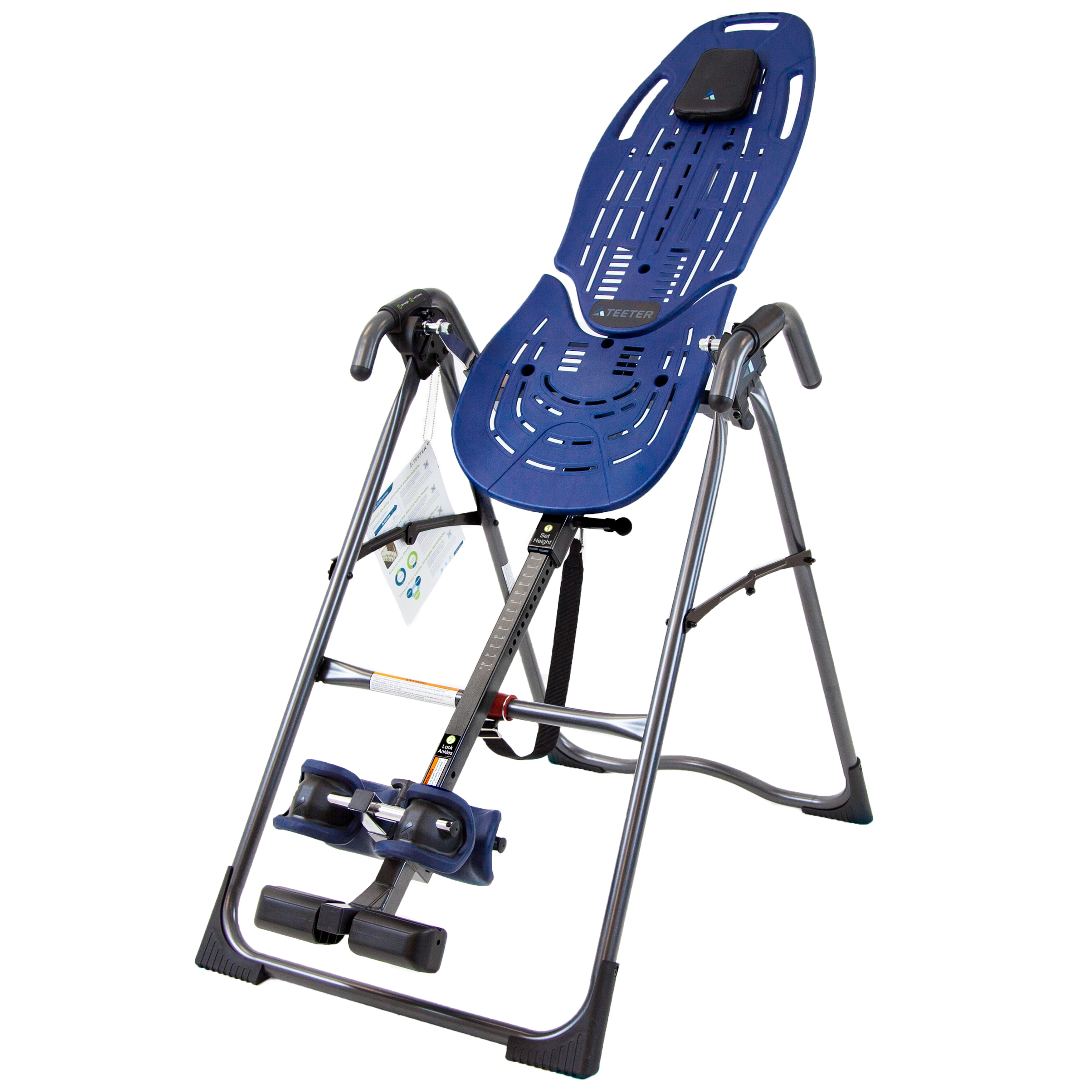 Teeter Ep 560 Inversion Table With Back Pain Relief Dvd Walmart Com