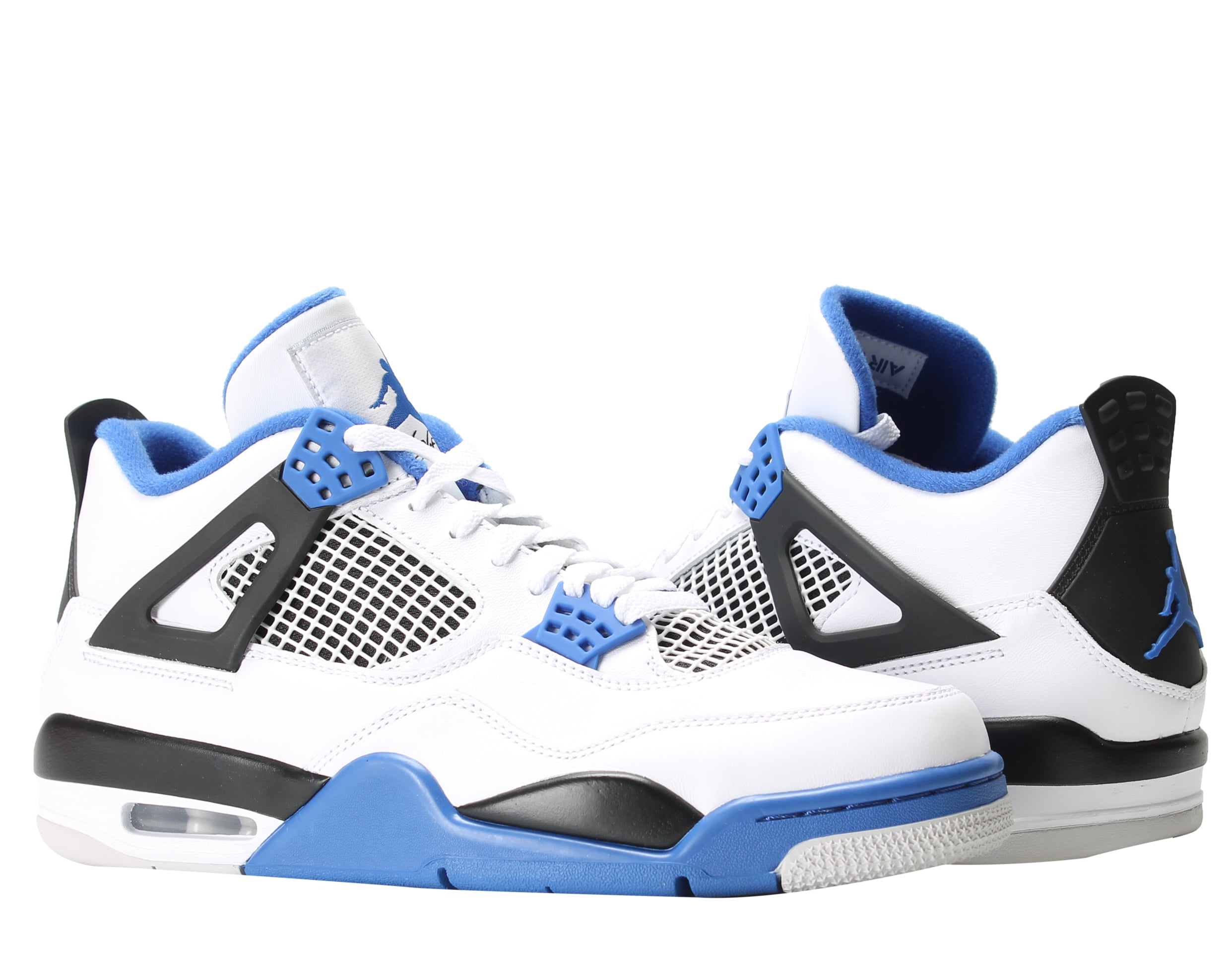 factory authentic afce6 93b9a cheapest nike air jordan 4 retro motorsports blue mens basketball shoes  308497 117 57904 c6dc1