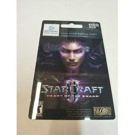 Starcraft II: Heart Of the Swarm Full Game Digital Copy