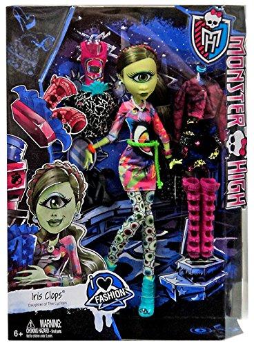 I (Heart) Fashion Iris Clops Doll & Fashion, By Monster High by