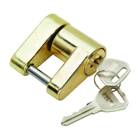 (63225) Trailer Coupler Lock, Weather resistant finish holds up to the elements By Tow Ready