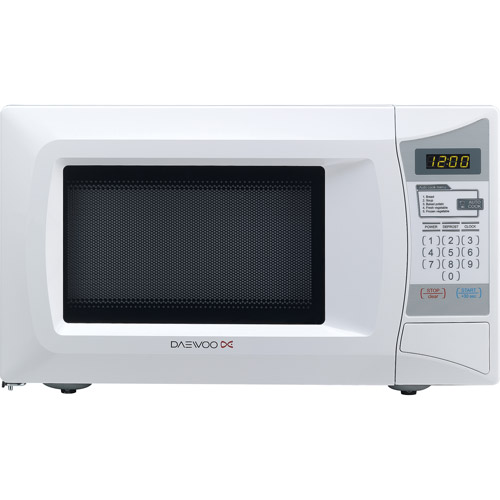 Daewoo 0.7 cu ft Microwave Oven, White