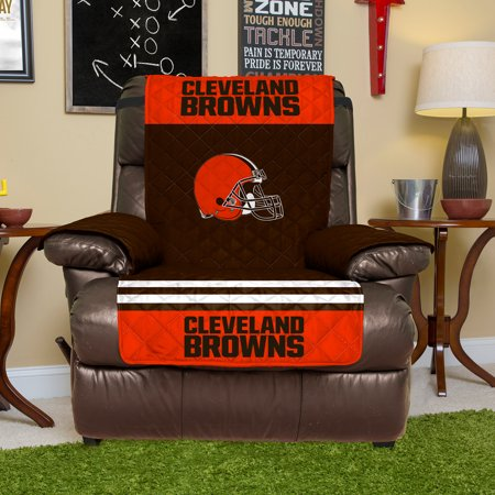 Cleveland Browns Recliner Protector - Brown - No (Cleveland Browns Couch)