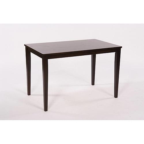 Contemporary Dining Table, Espresso