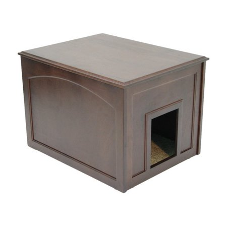 Cat Condo And Litter Box Enclosure By Crown Pet Products