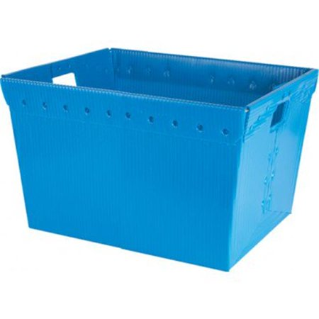 Small Plastic Nesting Storage Tote - Blue - image 1 of 1