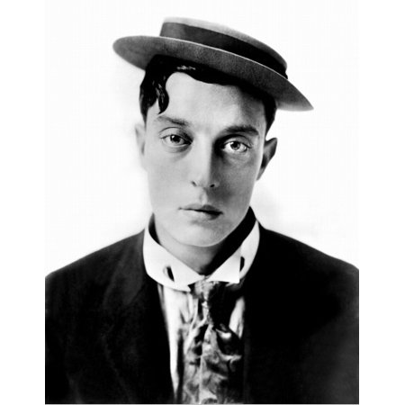 Buster Keaton In The 1920S Rolled Canvas Art -  (8 x 10)
