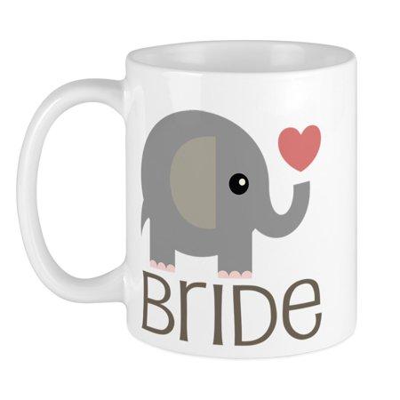 CafePress - Bride Wedding Elephant Mug - Unique Coffee Mug, Coffee Cup CafePress