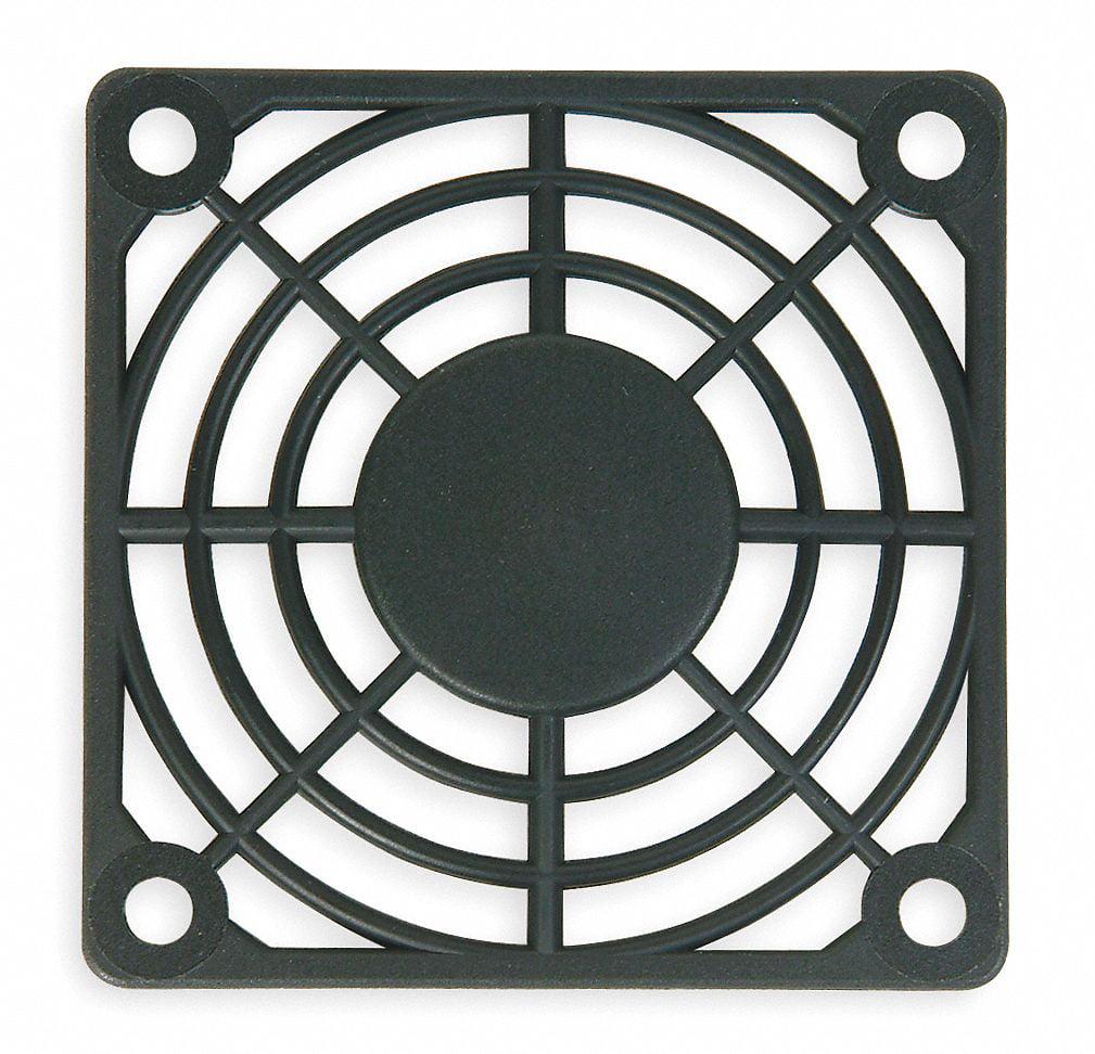 Plastic Fan Guard, 1 EA,For Fan Size (In.) 3-1/8