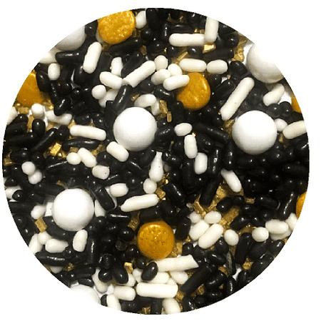Graduation Desert Cupcake Icecream Cake Decoration Confetti Quin Pearly Sprinkes -6oz Jar (Ice Cream Case Cover)