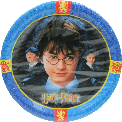 Harry Potter 'Chamber of Secrets' Small Paper Plates (8ct)
