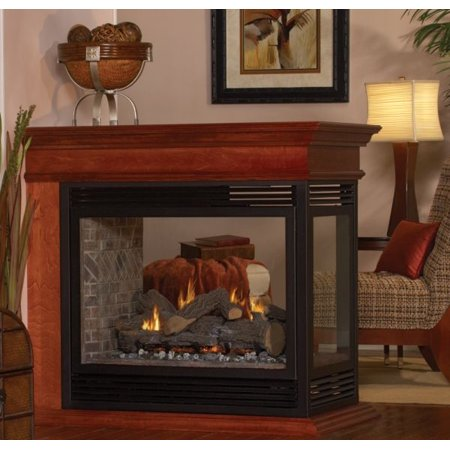 Tahoe Dv Peninsula Premium 36 Fireplace With Barrier