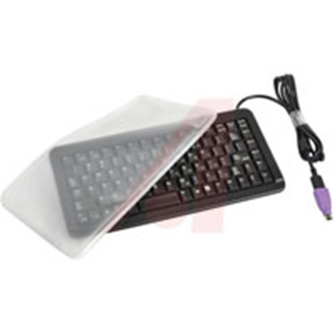 Cherry EZN4100LCMUS2 11 In. Ultraslim Keyboard With Ez Clean Flat Cove