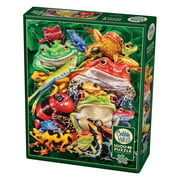 Cobble Hill: Frog Business 1000 Piece Jigsaw Puzzle
