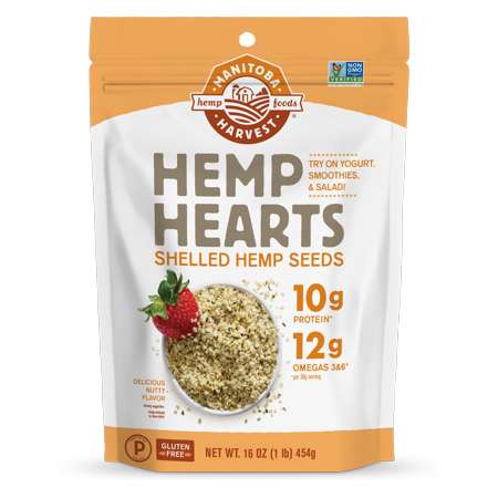 Manitoba Harvest Hemp Heart Seeds (Choose Size), 1