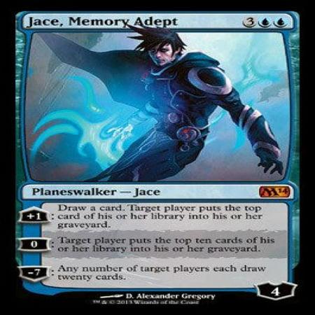 Magic The Gathering Jace Memory Adept Magic 2014
