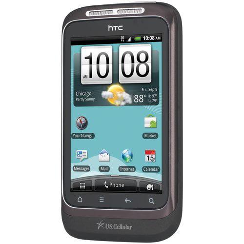 U.S. Cellular HTC Wildfire S Smartphone, Grey