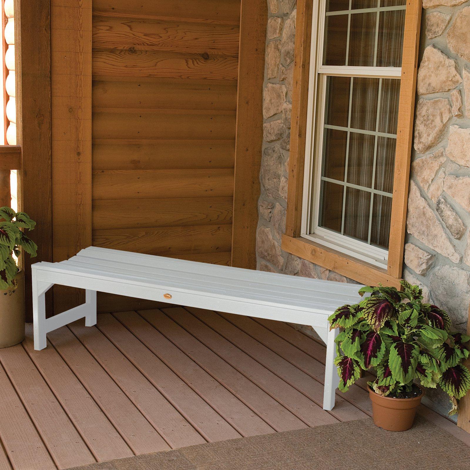 Kepner 61 in. Bench (White)