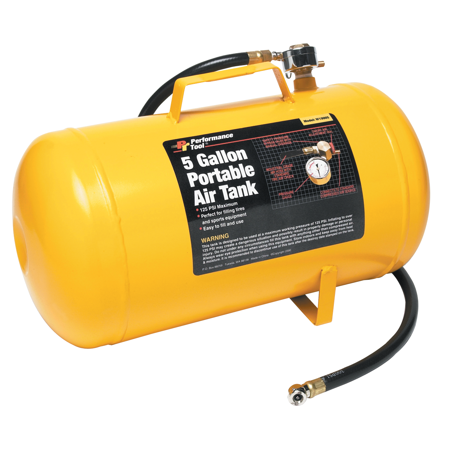Performance Tool W10005 5 Gallon Air Tank