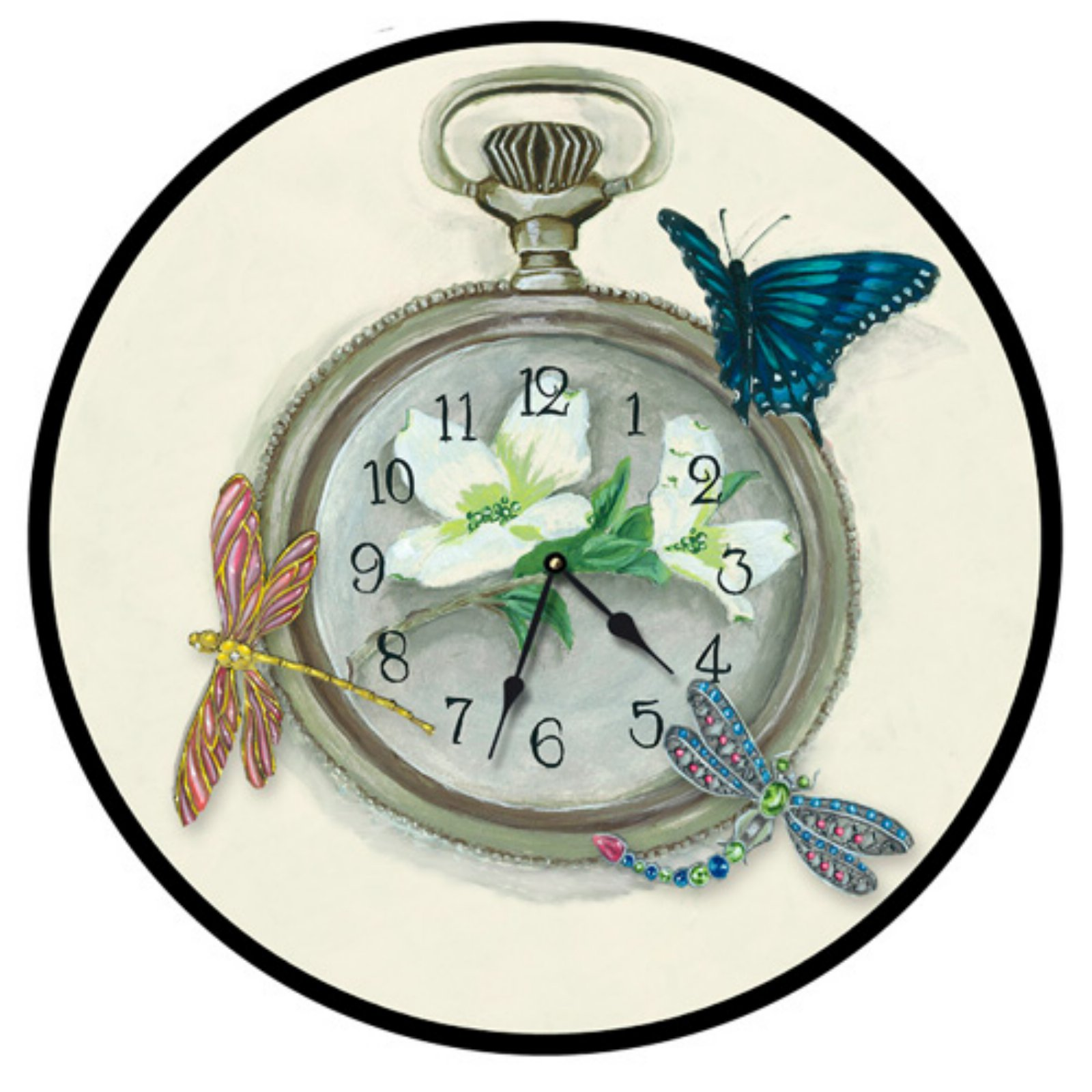 Lexington Studios Moments In Time Wall Clock
