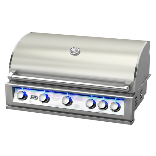 BroilChef 5-Burner Built-In Propane Gas Grill by