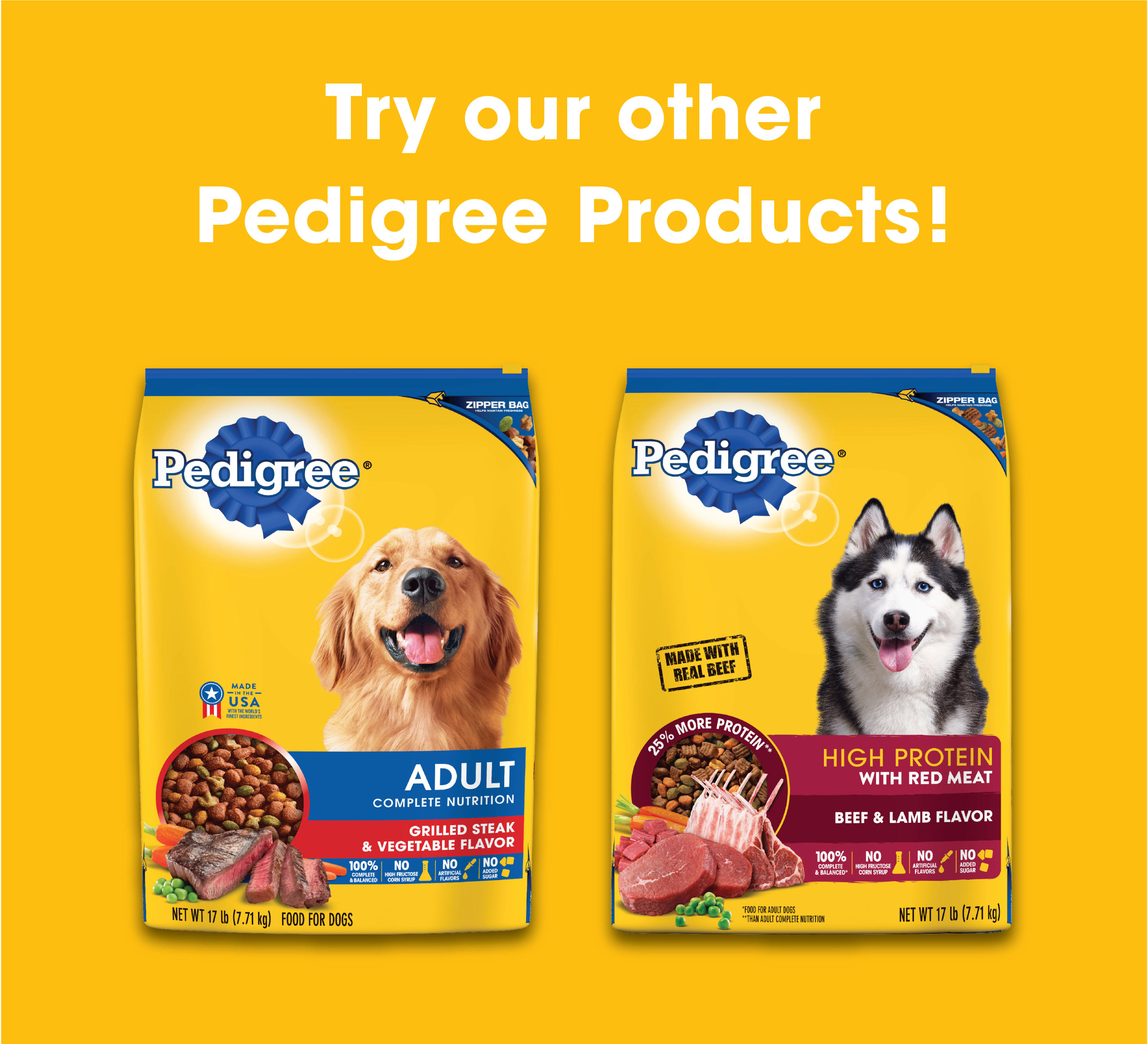 PEDIGREE plete Nutrition Adult Dry Dog Food Roasted Chicken Rice