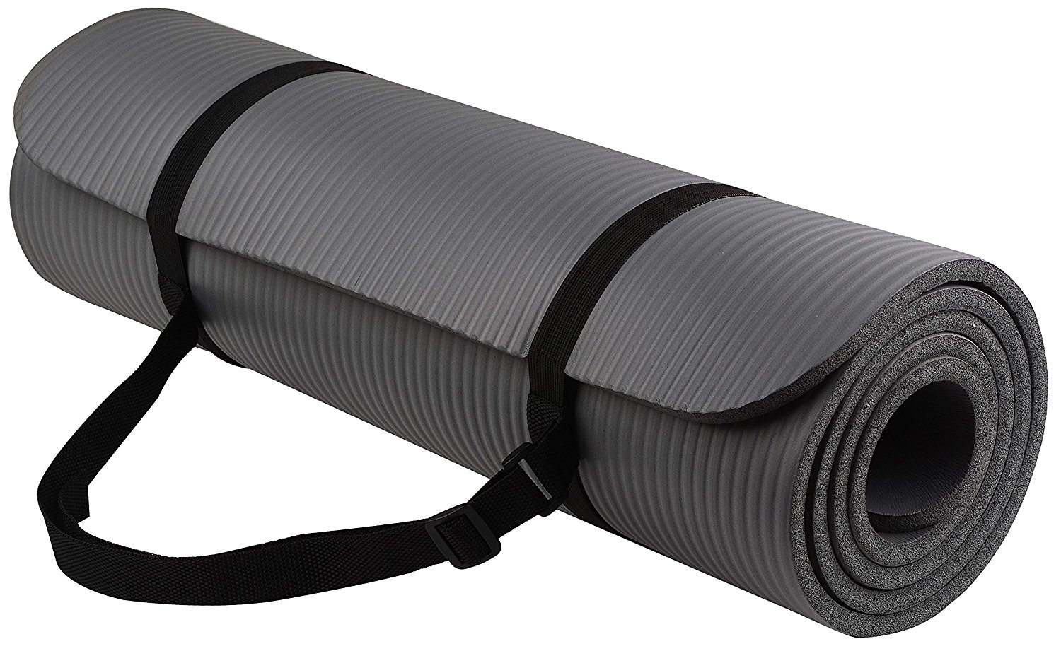 BalanceFrom GoYoga All-Purpose 1 2-Inch Extra Thick High Density Anti-Tear Exercise Yoga Mat with Carrying... by BalanceFrom