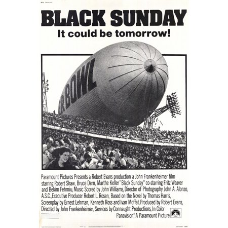 Black Sunday (1977) 11x17 Movie Poster - Edm Sunday Halloween