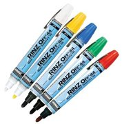 Dykem RINZ OFF  Water Removable Temporary Markers - rinz off 44 yellow action marker (Set of 12)