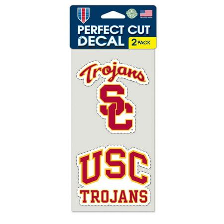 USC Trojans Set of 2 Die Cut - Quickutz 2 X 2 Die