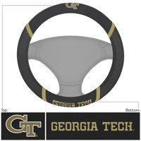 "Georgia Tech Steering Wheel Cover 15""x15"""