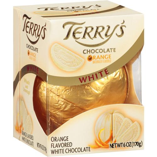 Terry's Orange Flavored White Chocolate, 6 oz