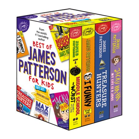 Best of James Patterson for Kids Boxed Set (with Bonus Max Einstein