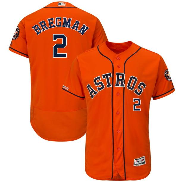Alex Bregman Houston Astros Majestic Alternate Flex Base Authentic ...