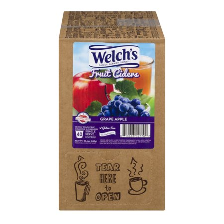 Welch's ,Grape Apple Cider, 40 Count - Hot Apple Cider Cocktail
