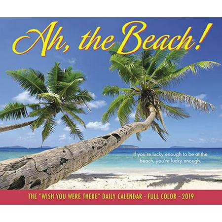 Willow Creek Press 2019 Ah, The Beach! Box Calendar