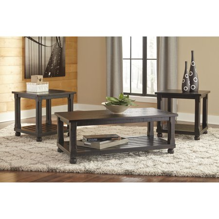 Signature Design by Ashley Mallacar 3 Piece Coffee Table Set ...