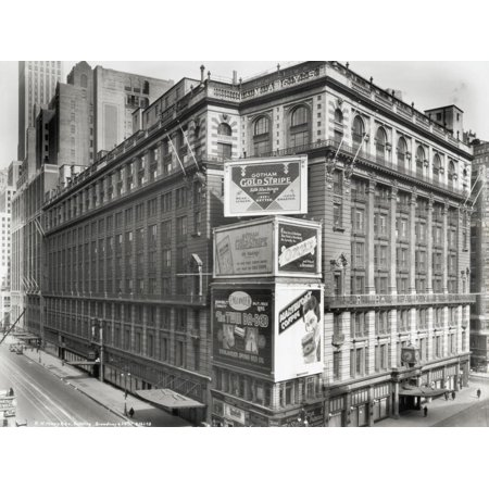 R.H. Macy's Store Print Wall (Discount Coupon For Macy's In Store)
